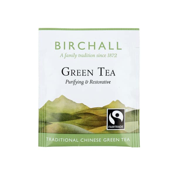 Birchall Green Tea - 25 Enveloped Tea Bags
