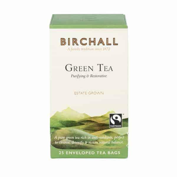 Birchall Green Tea - 25 Enveloped Tea Bags