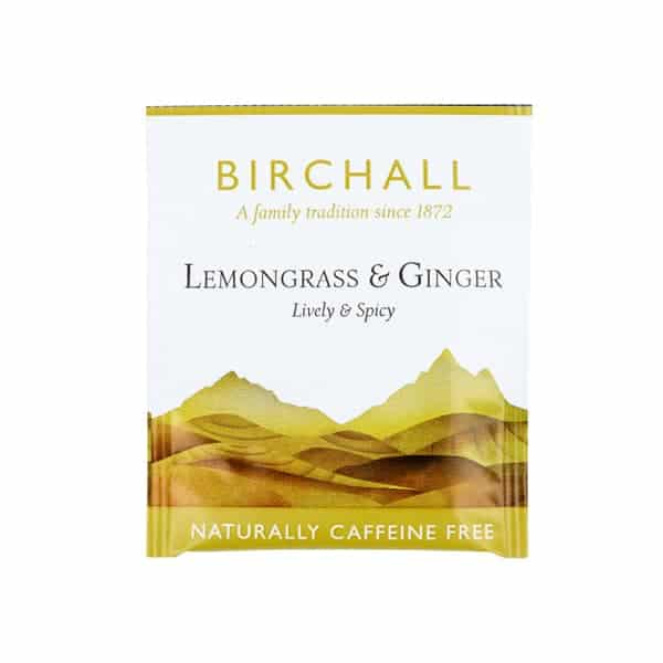 Birchall Lemongrass & Ginger - 25 Enveloped Tea Bags
