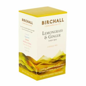 Birchall Lemongrass & Ginger - 25 Enveloped Prism Tea Bags