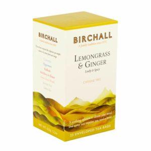 Birchall Lemongrass & Ginger - 25 Enveloped Prism Tea Bags