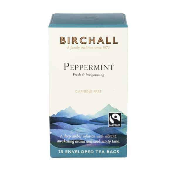 Birchall Peppermint Tea - 25 Enveloped Tea Bags