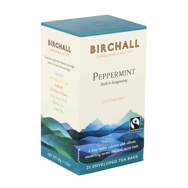 Birchall Peppermint - 25 Enveloped Tea Bags