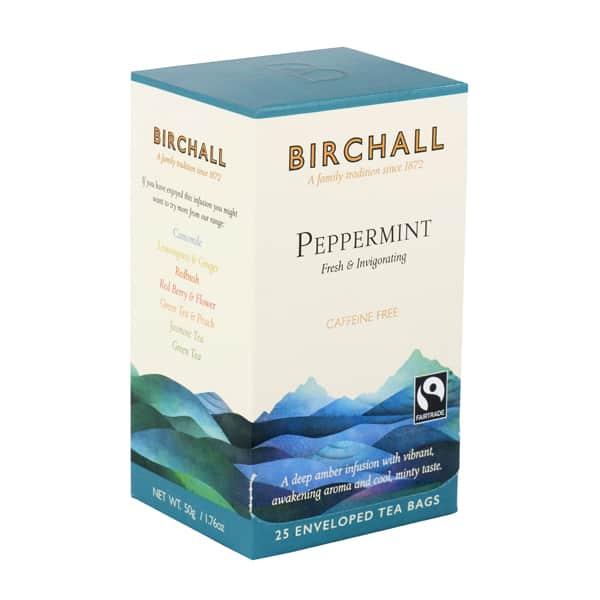 Birchall Peppermint - 25 Enveloped Tea Bags