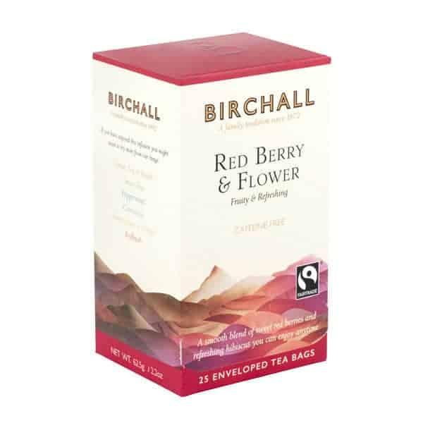 Birchall Red Berry & Flower - 25 Enveloped Tea Bags