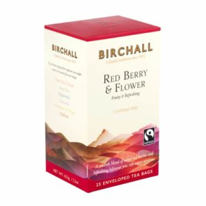 Birchall Red Berry & Flower - 25 Enveloped Tea Bags