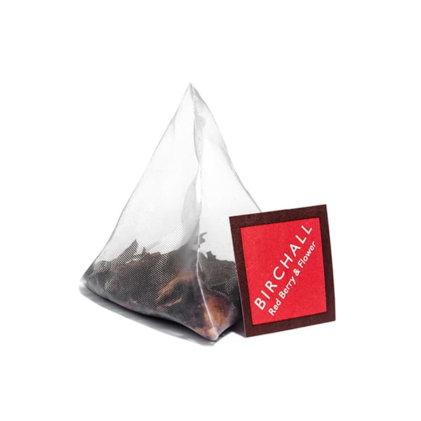 Birchall Red Berry & Flower Prism Tea Bag