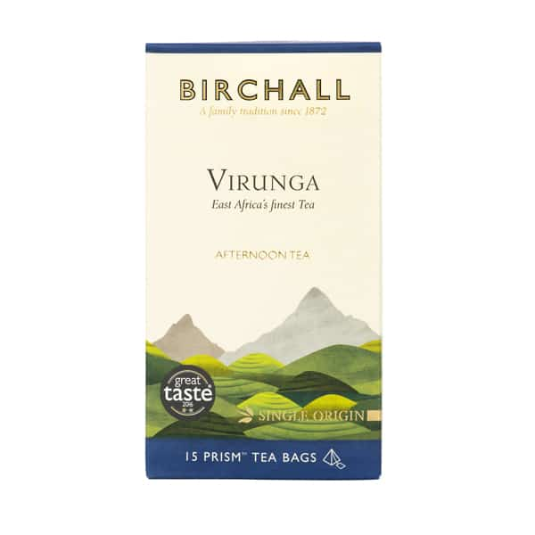 Birchall Virunga Afternoon Tea - 15 Prism Tea Bags
