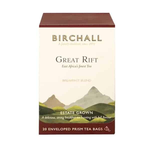 Birchall Great Rift Breakfast Blend - 20 Enveloped Prism Tea Bags