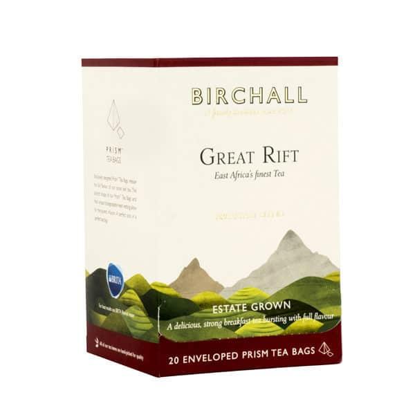Birchall Great Rift Breakfast Blend - 20 Enveloped Prism Tea Bags