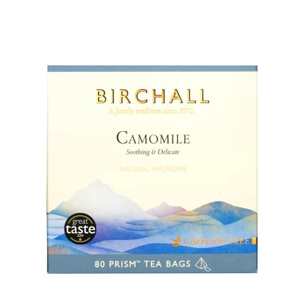 Birchall Camomile - 80 Prism Tea Bags