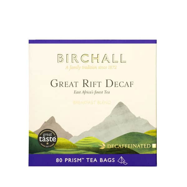 Birchall Great Rift Decaf - 80 Prism Tea Bags