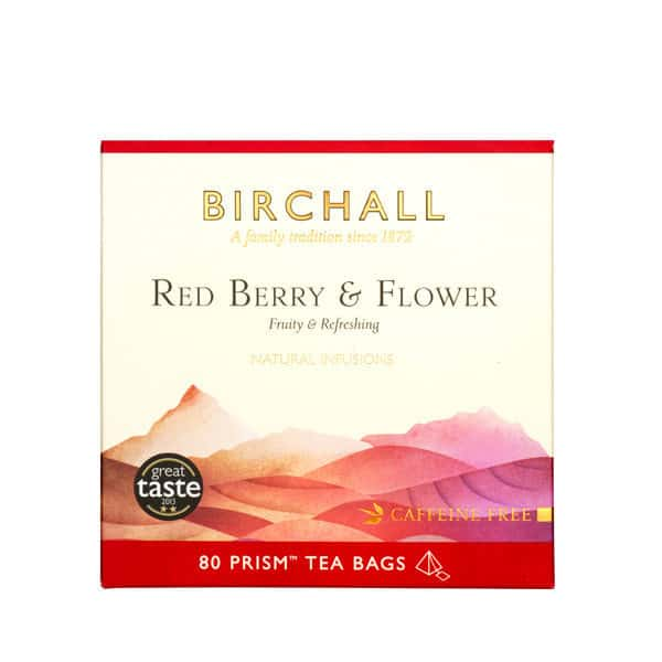 Birchall Red Berry & Flower - 80 Prism Tea Bags