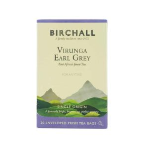 Birchall Virunga Earl Grey - 20 Enveloped Prism Tea Bags
