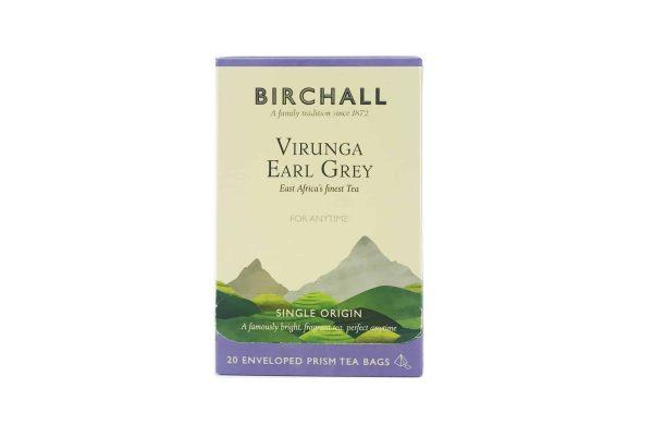 Birchall Virunga Earl Grey - 20 Enveloped Prism Tea Bags
