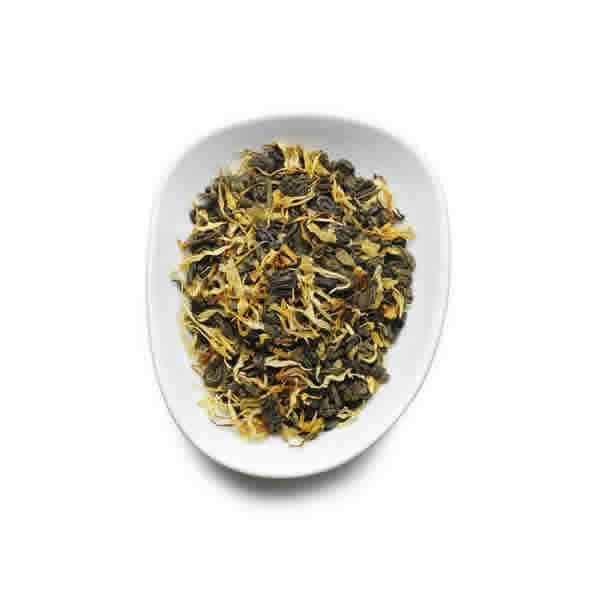 Birchall Green Tea & Peach Leaves