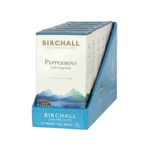 Birchall Peppermint Prism Tea Bags Case