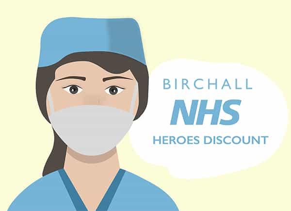 Birchall NHS Heroes Discount