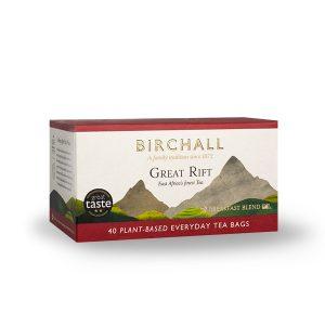 Great Rift Breakfast Blend 40 Plant-Based Everyday Tea Bags