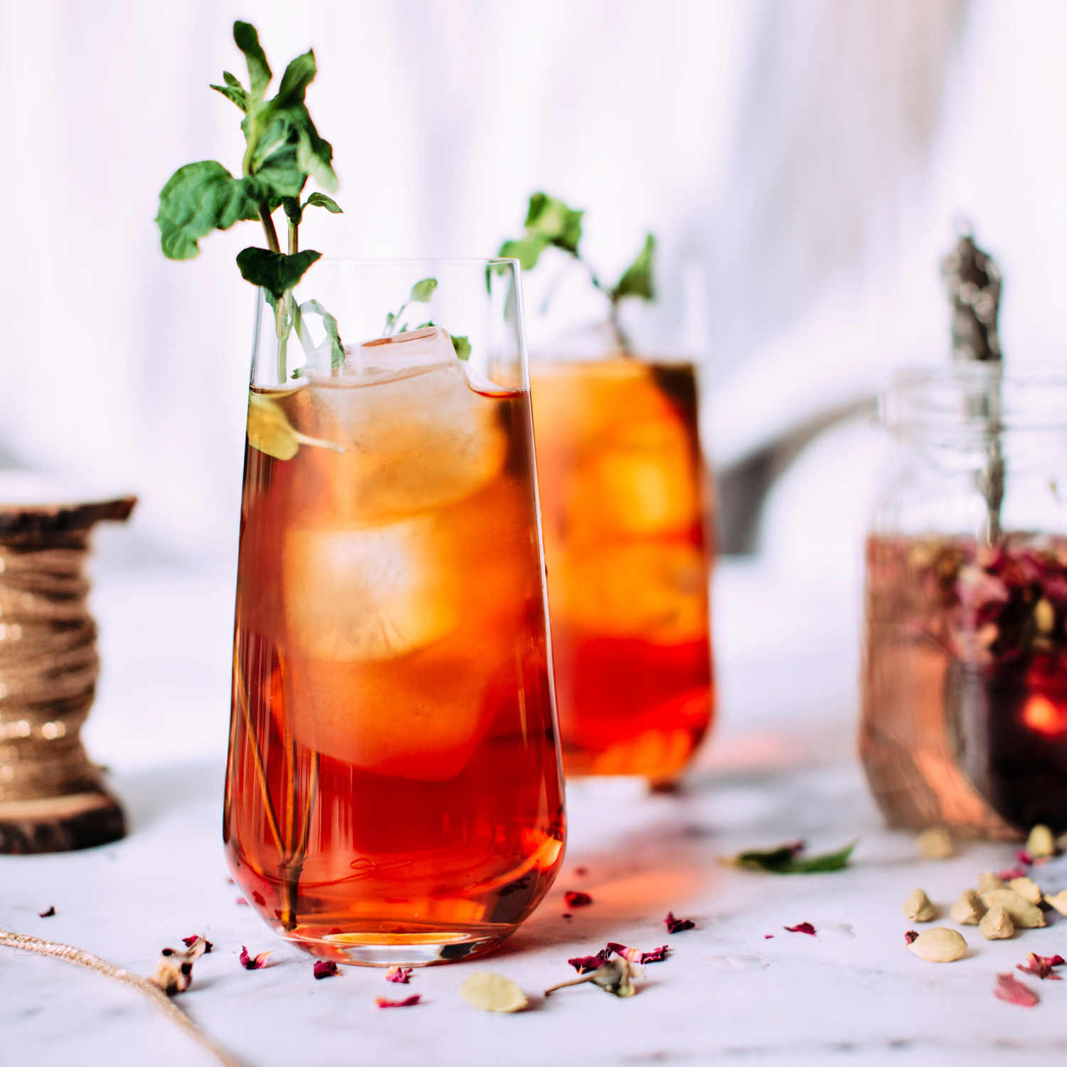 The Perfect End-of-Summer Tea Infused Mocktail